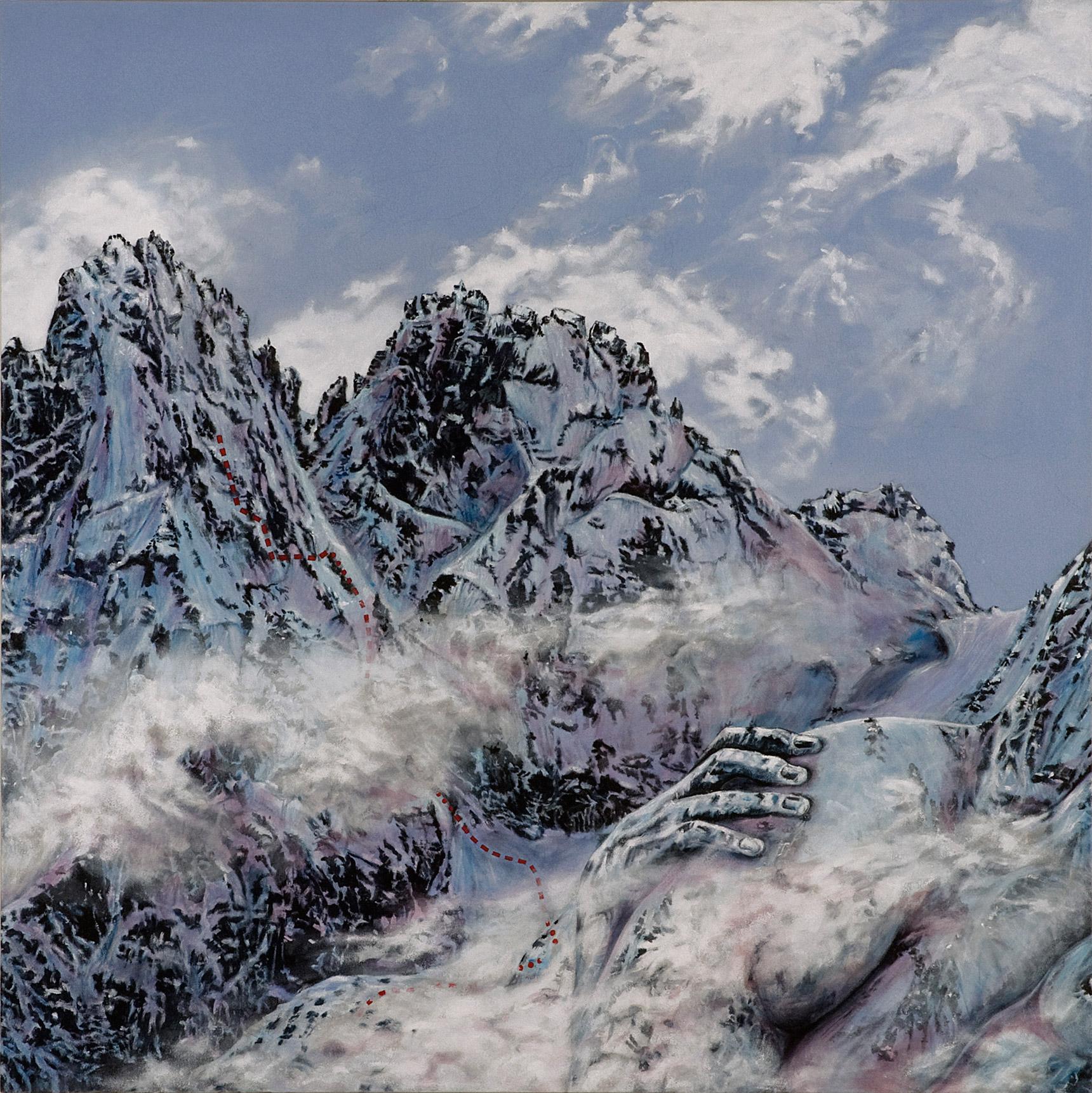 Peinture hyperréalisme Hervé Bernard : It is not Too Far Off